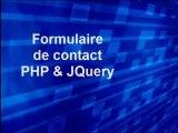 Installer et intégrer un Formulaire de contact PHP JQuery