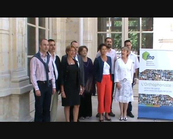 Fédération Nationale des Orthophonistes FNO Vichy 2010