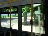 Trajet bus d'Aix les bains-Chambéry, un dimanche