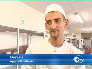 Examen: L'épreuve pratique pour les futurs pâtissiers