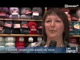 Journée mondiale du tricot à Caen