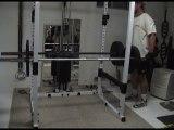 """Power Rack Deadlift """"Machine"""" - Great deadlift variation"""
