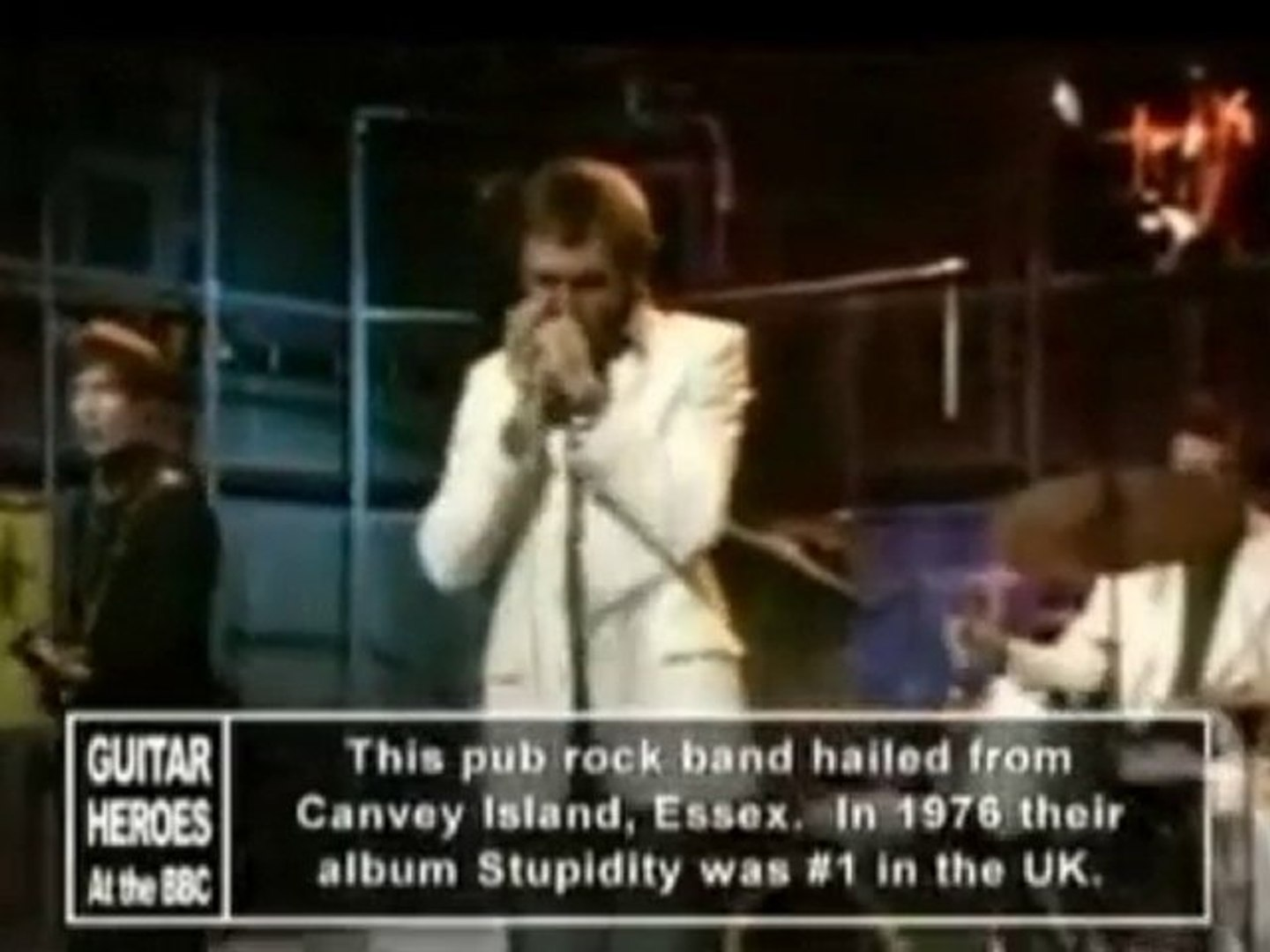 Dr Feelgood - Roxette - Live Whistle Test 1975
