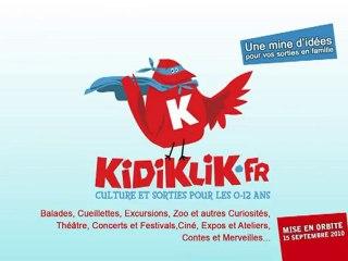 Lancement KidiKliK.fr
