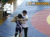 平成22年度全国中学生レスリング大会 女子41KG決勝戦