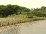 Calaisis TV : Inauguration des huttes de chasse