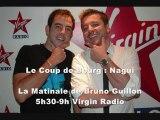 Canular Téléphonique Le Coup de Bourg : Nagui piégé par Olivier Bourg sur Virgin Radio !