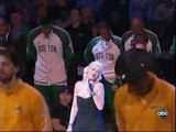 Christina Aguilera Sings National Anthem - Game 6 - ...