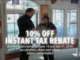 Alweather Windows & Doors Instant Tax Rebate 2010
