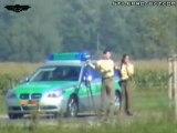 Moto à 300 km_h!!! and Polizei