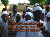 François FALL s'offre un bain de foule à Kankan