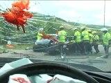 Spot de prévention de la sécurité routière au RU.