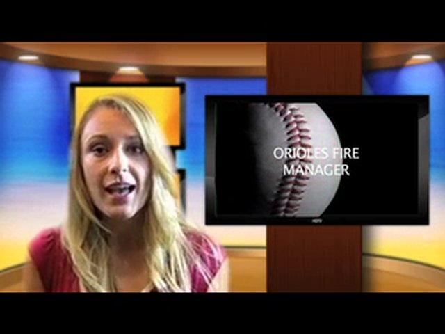 MLB Baseball – Orioles Fire Manager
