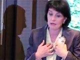 Doris Leuthard au Salon du dessin de presse