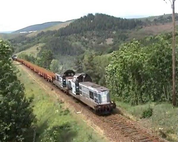 LE TRAIN DE RAILS SUR LES CEVENNES
