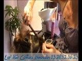 coiffeur annoeullin, chignon, mariage, uv, salon de coiffure