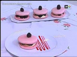 chhiwat choumicha 2010 Macarons framboises