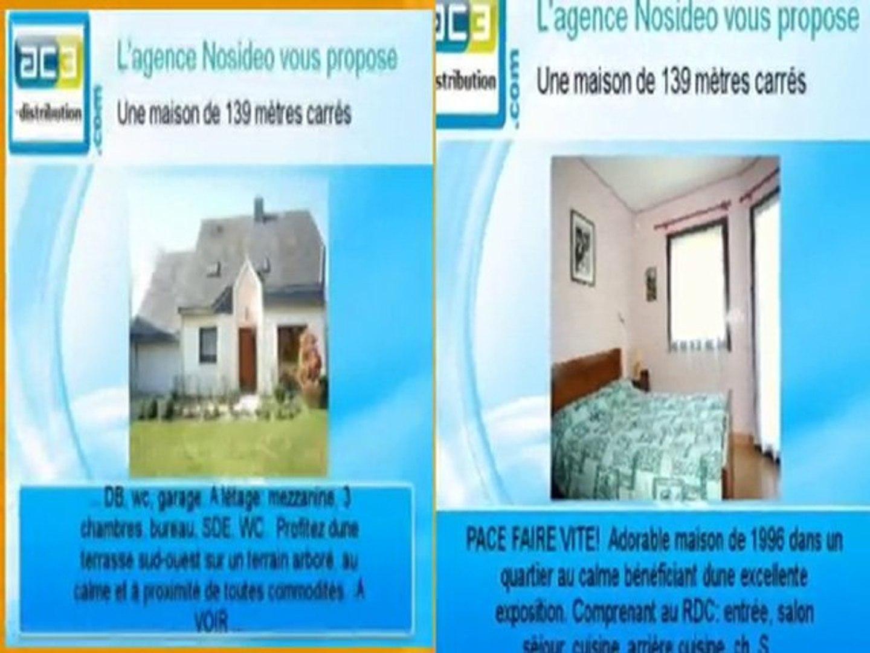A vendre une maison de 139 m2 à Pacé