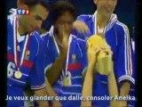 Non (consoler Anelka) parodie équipe de France mondial 2010