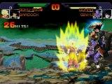 Combat DBZ Goku ( SSJ2 )  Bardock Vs Gohan ( Enfant )  Ginyu