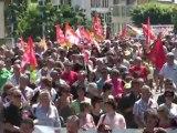 Manifestation Retraites Digne-les-Bains