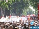 Réforme des retraites : plus de 20 000 manifestants à lyon