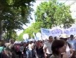 Manif interpro pour les retraites 24 juin 2010 UNSA