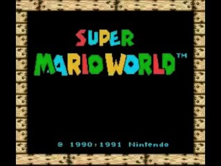 TAS : Super Mario World (Small Only) commenté