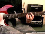 How to play Crushing Day By Joe Satriani on guitar / ...
