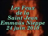 Les Feux de la Saint Jean à Emmaus-Nieppe