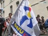 Manifestation contre le fichage des élèves (Puy-de-Dôme)