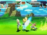 Combat DBZ Gotenks ( SSJ ) & Kid Buu Vs Kid Goku & Vegeta