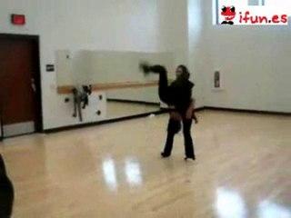 Que chicas tan flexibles