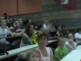 Cérémonie de remise de diplômes à l'IUT-site de Vesoul