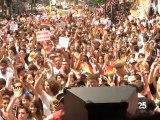 La marche des fiertés 2010 à Paris