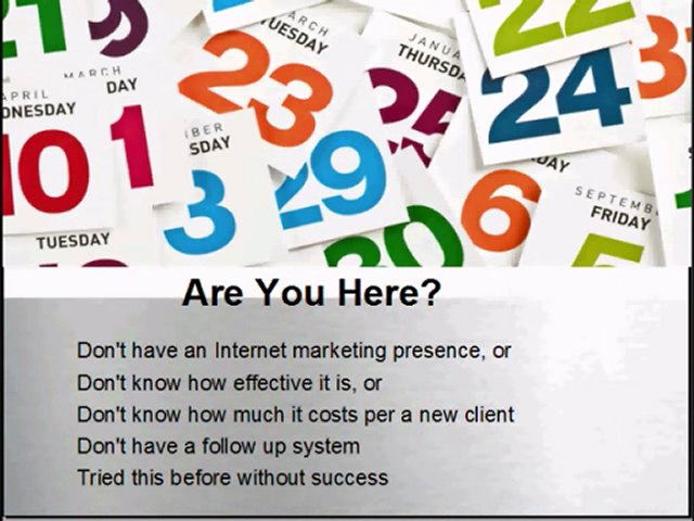 Dallas Online Marketing Strategies Part 2, Dallas Web Marke