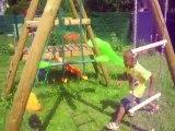 Mathys fait du jumping lool (juin 2010)