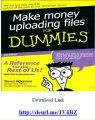 Make Money  online Uploading Files For Dummies