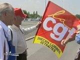 Réforme des retraites : Manifestation à Brétigny-sur-Orge