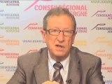 René Souchon répond aux Auvergnats - 28 juin 2010