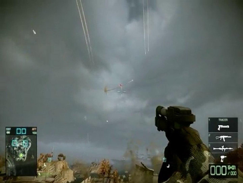 Crazy UAV tracered rockets