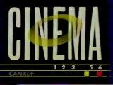 Génerique CINEMA 1993 Canal+