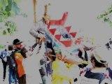 Brigade activiste des clowns : contre-défilé du 14 juillet