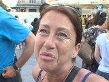 Une flashmob pour ne pas oublier les journalistes otages (Montpellier)