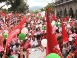 Drug violence, candidate death, shadow Mexico vote