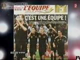 Moriniere tacle l'EDF et Domenech [ITV] FR2 040710
