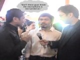 Manny Paquiao goes Outrage