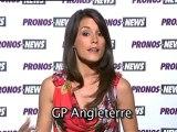 Grand Prix de Grande Bretagne de F1 avec Marion Jollès