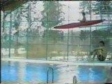 chute kayak en piscine