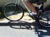 roller et vélo freestyle